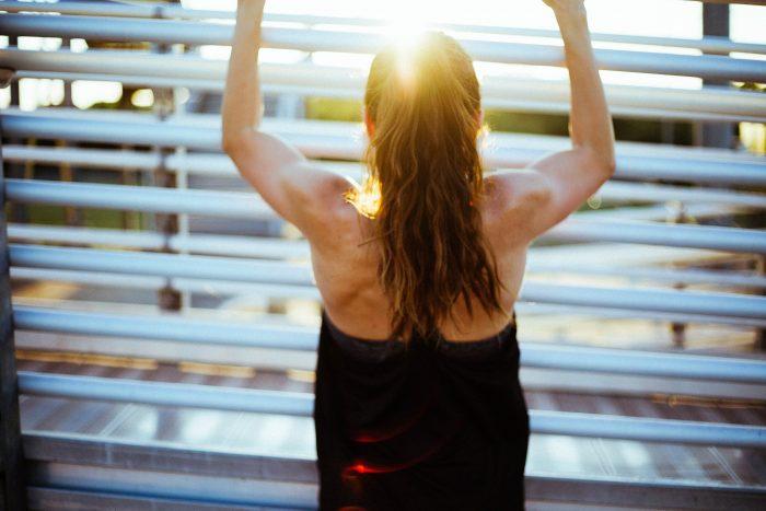 Reforçando os músculos dorsais