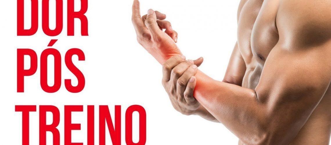 Sente dor após o treino- Saiba como aliviar a dor